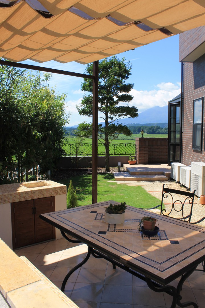 ガーデンテラスから眺める絶景