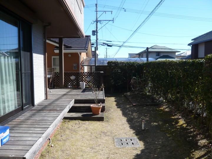 ガーデンルームと自然石のお庭完成!