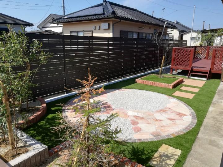 眺めて、使えて、楽しめるお庭に。