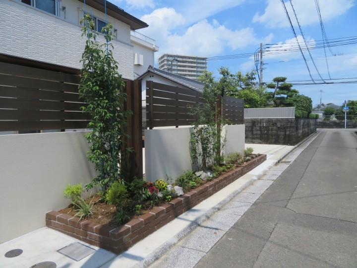 お庭の考え方の大改造