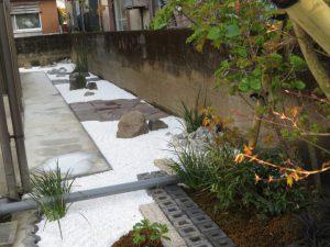 憧れの竜安寺・アレンジ石庭を作りました!